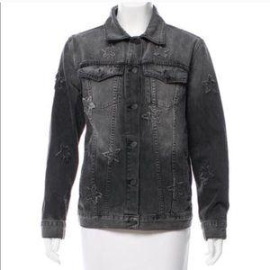 ISO Rails Knox black denim jacket!!!